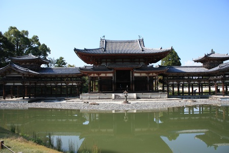 Byodoin temple in Uji, near Kyoto in Japan, a unesco world heritage site Stock Photo - 16234466