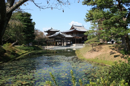 Byodoin temple in Uji, near Kyoto in Japan, a unesco world heritage site Stock Photo - 16245351