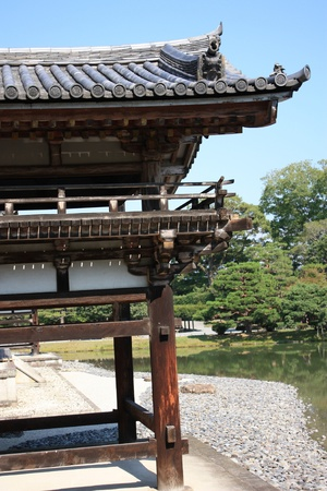 Byodoin temple in Uji, near Kyoto in Japan, a unesco world heritage site Stock Photo - 16234493