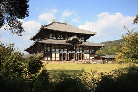 unesco world cultural heritage: Main Hall of Todaiji Temple in Nara, Japan  The world Editorial