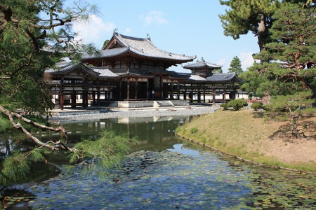 Byodoin temple in Uji, near Kyoto in Japan