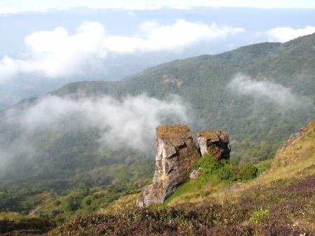 doi: Doi Intanon Chiangmai Thailand, famous view point