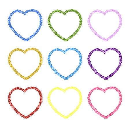 hand-drawn heart sketch design for valentine Stock Vector - 17451102