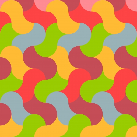 abstract retro seamless graphic pattern Vector