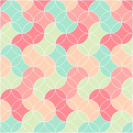 abstract retro seamless graphic pattern