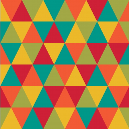 abstract retro geometric pattern for design Vector