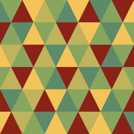 設計のための抽象的なレトロな幾何学模様