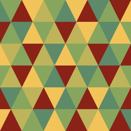 작은 숲: 디자인에 대 한 추상적 인 복고풍 기하학적 인 패턴