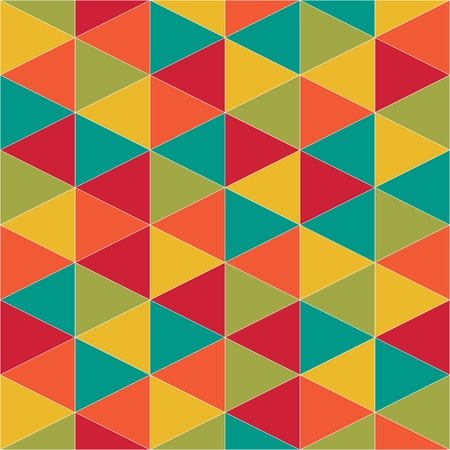 abstract retro geometric pattern for design Stock Vector - 18923001