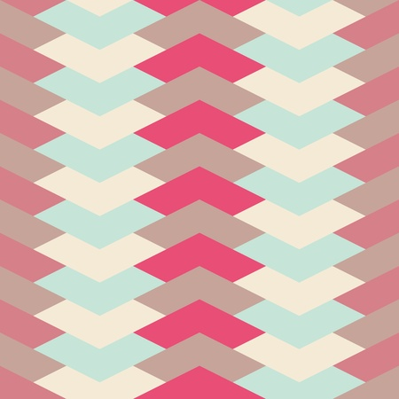 abstract retro geometric seamless pattern for design Stock Vector - 19000456