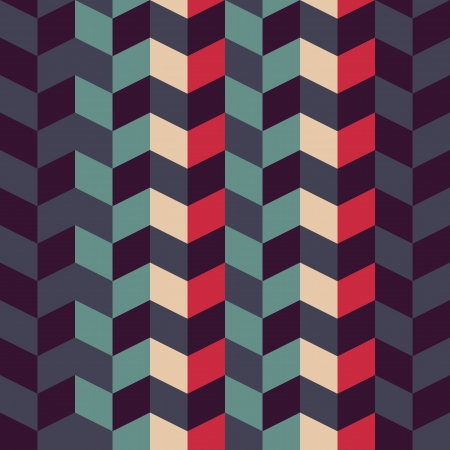 abstract retro geometric seamless pattern for design Vector
