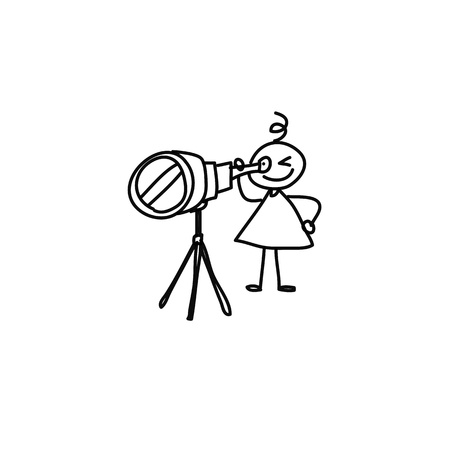 dreamer: cartoon hand drawing imagination and creativity