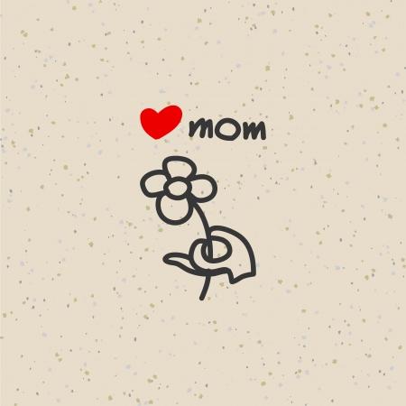 hand drawing cartoon character happy family Stock Vector - 19222440