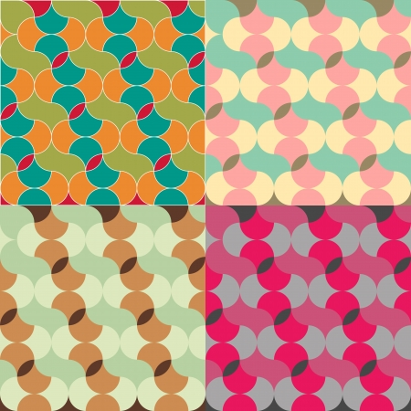 abstract retro geometric seamless pattern for design Stock Vector - 20946226