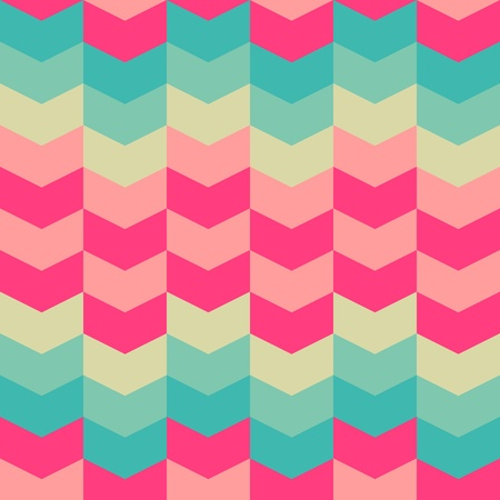 retro design: abstract retro geometric seamless pattern for design