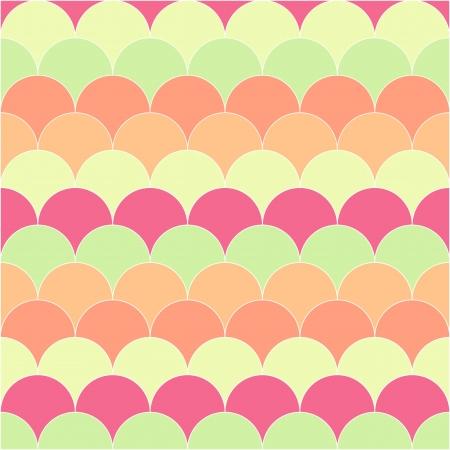 設計のための抽象的なレトロな幾何学的なシームレス パターン