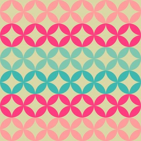 設計のための抽象的な幾何学的なレトロな背景