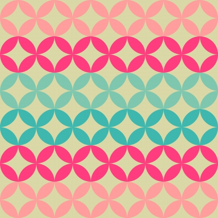 bohemian: abstract geometric retro background for design
