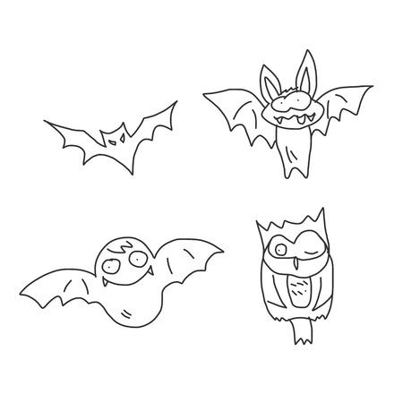 hand drawing cartoon happy halloween Stock Vector - 22593123