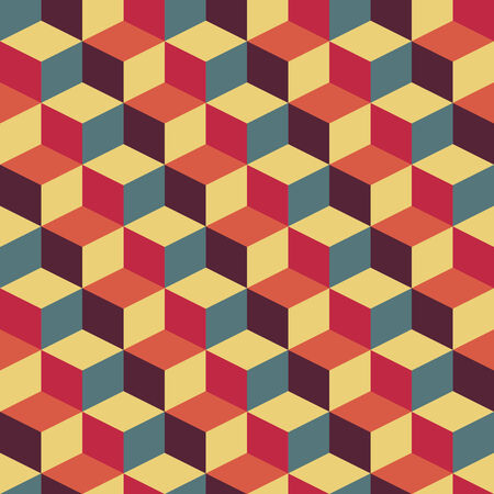 futurism: abstract retro geometric pattern for design