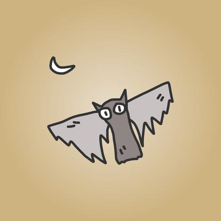 sketch halloween cartoon character Vector