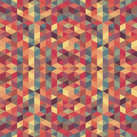 abstract retro geometric pattern illustrator. Vector