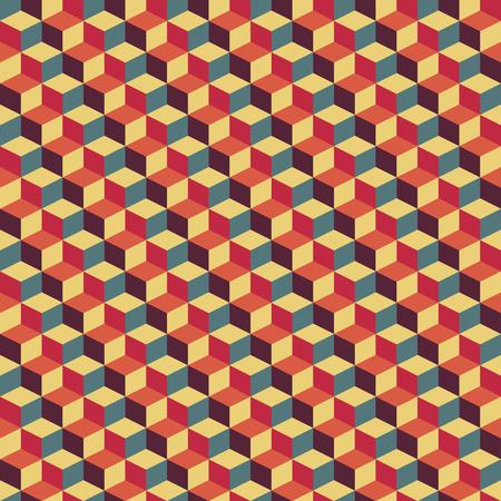 abstract retro geometric pattern illustrator eps 10