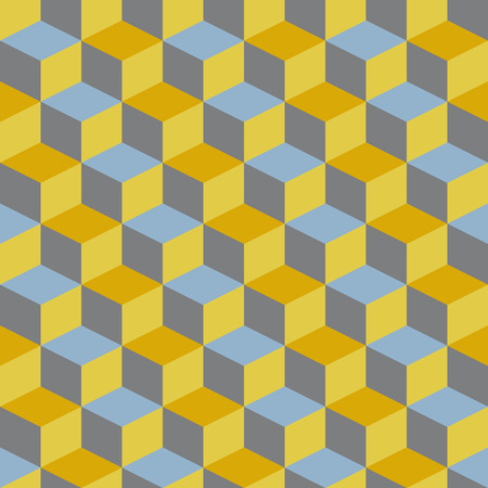illustion: abstract retro geometric pattern for design