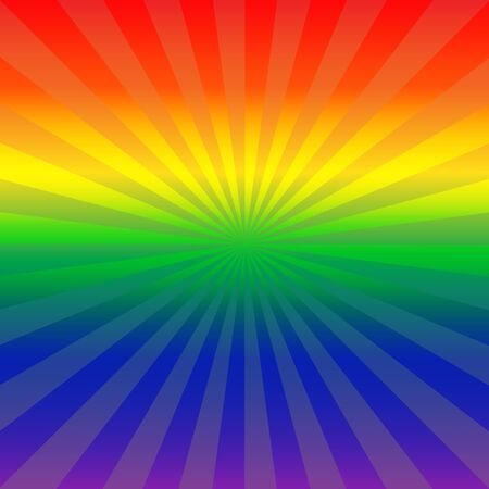 rainbow background: abstract rainbow color background vector