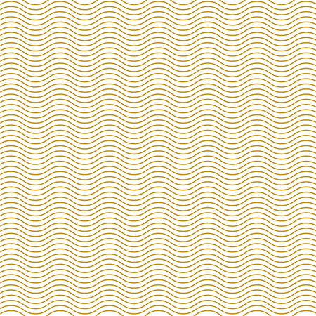emboss: abstract wave emboss gold line background vector illustration for design