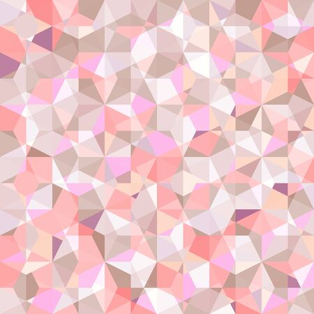 tone on tone: abstract geometric polygon pattern in pink tone vector background