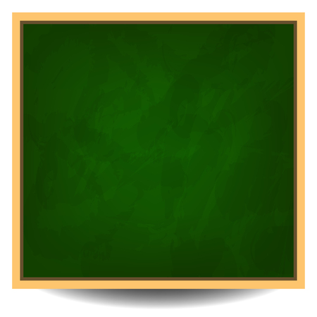text background: Green chalkboard background vector illustration