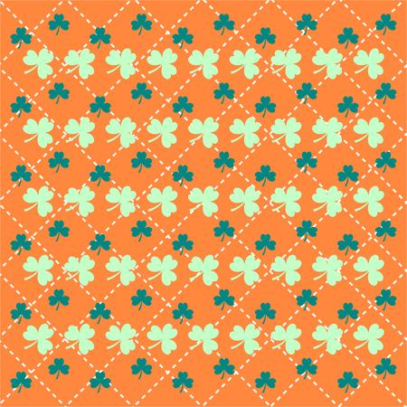 irish pub label design: St. Patricks Day background. vector illustration eps 10