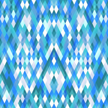 tone: Abstract Blue tone Geometric Polygon Pattern