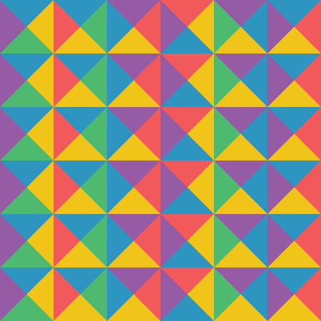 Vector abstract colorful geometric pattern retro and art deco style. Illustration for design background EPS10 Illustration