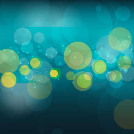 Vector abstract bokeh blur background. Festive defocused lights. design illustraton graphic for summer party and holiday vacation