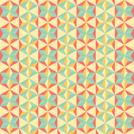 abstract pastel color tone geometric patterns background graphic vector illustration