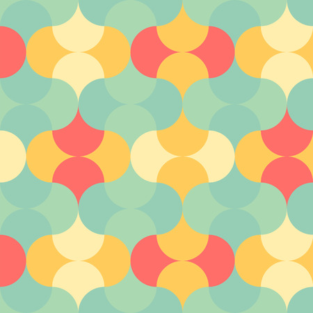 Abstract pastel color tone geometric patterns background graphic vector illustration Illustration