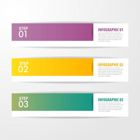 Business Infographics, strategy, timeline, design template illustration. Vector eps10. Stok Fotoğraf - 124744593