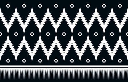 Abstract ethnic geometric seamless pattern vector design illustration for background, wallpaper, art print, textile, cloth design, fabric