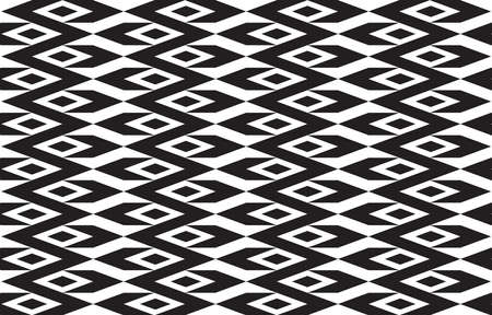 Abstract seamless geometric ethnic pattern traditional background design for wallpaper, fabric, textile, carpet, batik. Embroidery style. Premium Vector illustration.
