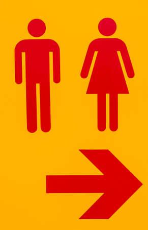 Toilet symbol meaning a public toilet Stock Photo - 23282120