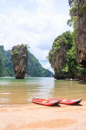 James Bond Island in Phang Nga provinces major attractions photo