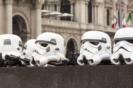 stormtrooper: Stormtrooper helmet Editorial