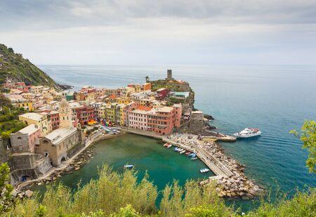 vernazza: rainy day in Vernazza Italy Cinque Terre