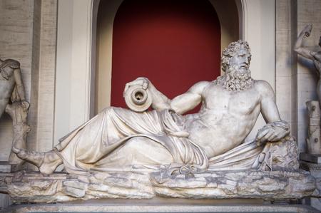 Marble statue of Zeus