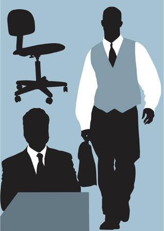 attache: office Illustration