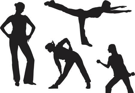 fitness Stock Vector - 411821