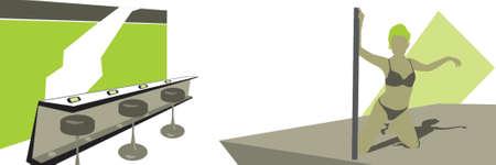 pole dancer Stock Vector - 411824