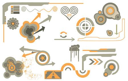 ellements: abstract modern design ellements